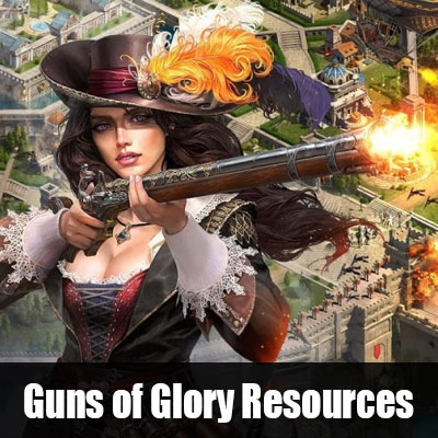Guns of Glory Resources, Buy GOG Food, Wood, Iron & Silver Cheap